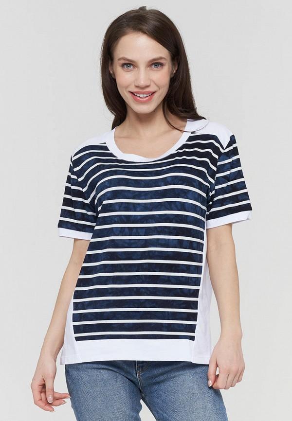 женская футболка vay, синяя
