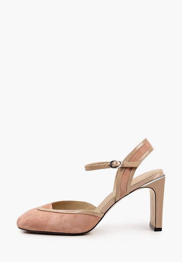 женские туфли mascotte, розовые