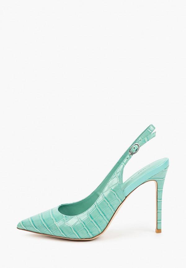 женские туфли mascotte, зеленые