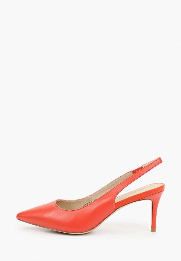 женские туфли mascotte, красные
