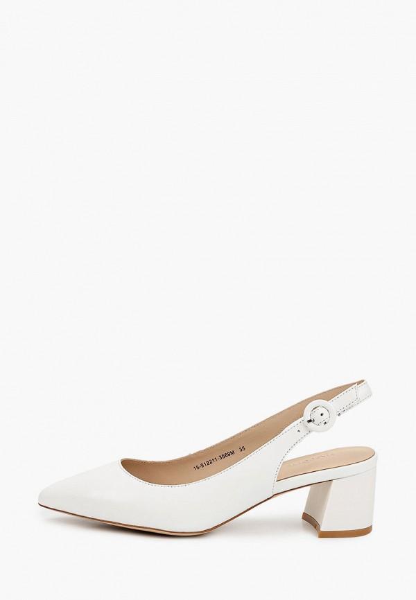 женские туфли mascotte, белые