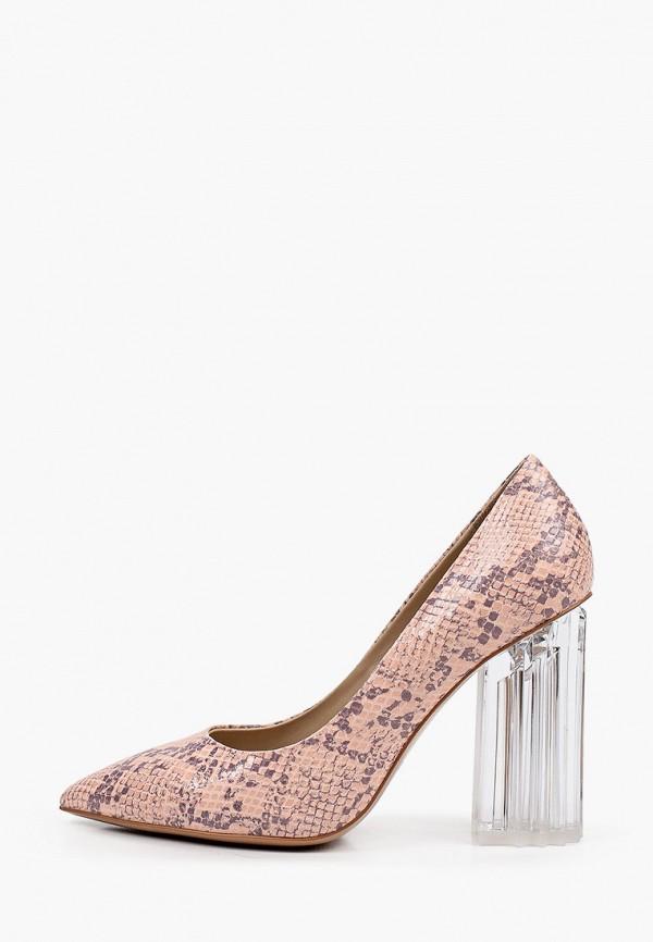 женские туфли-лодочки mascotte, розовые