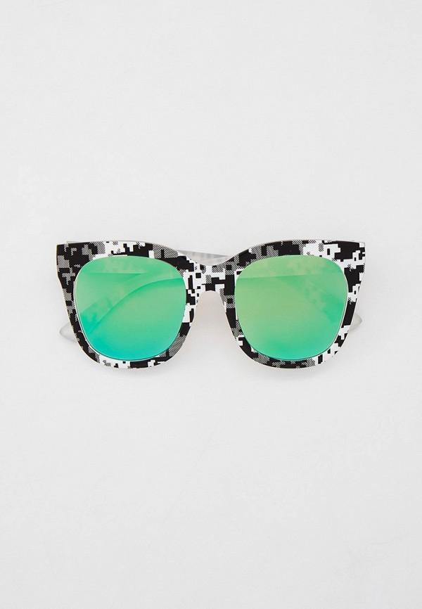 женские квадратные солнцезащитные очки модные истории, разноцветные