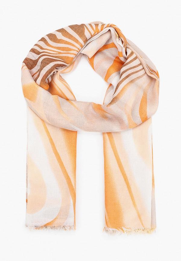 женский палантин модные истории, оранжевый