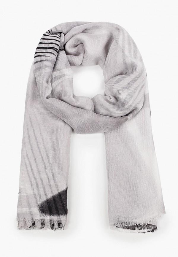 женский палантин модные истории, серый