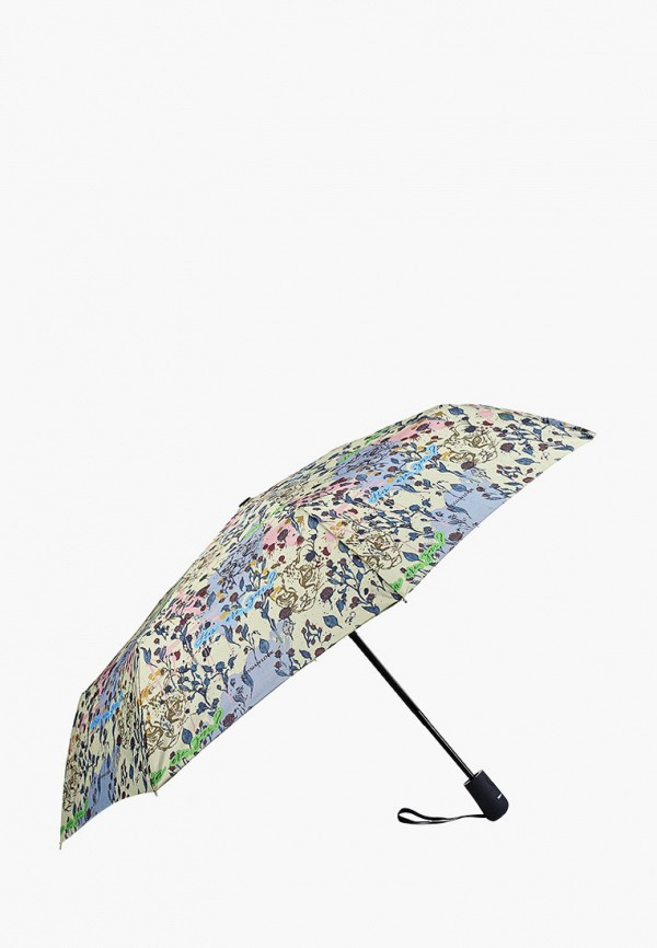 женский складные зонт russian look, разноцветный
