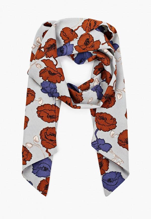 женский шарф модные истории, серый