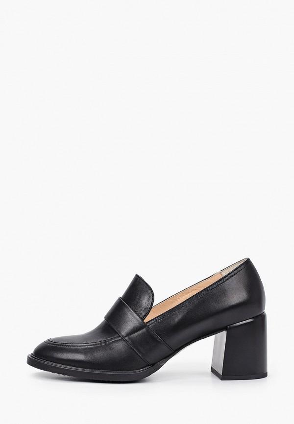женские туфли с закрытым носом giotto, черные