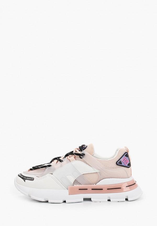 женские низкие кроссовки nobbaro, бежевые