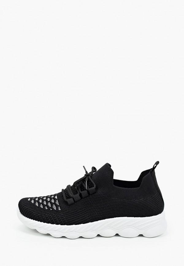 женские низкие кроссовки nobbaro, черные