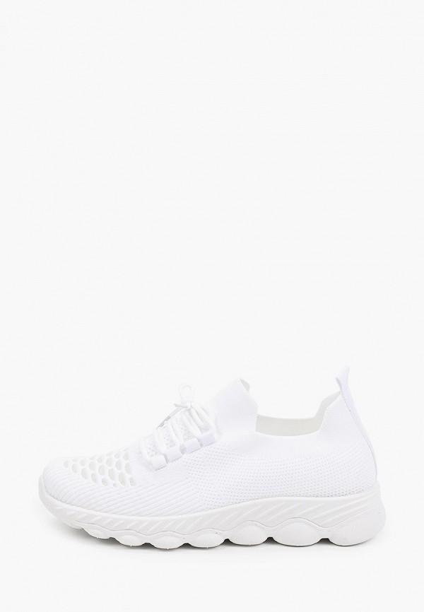 женские низкие кроссовки nobbaro, белые