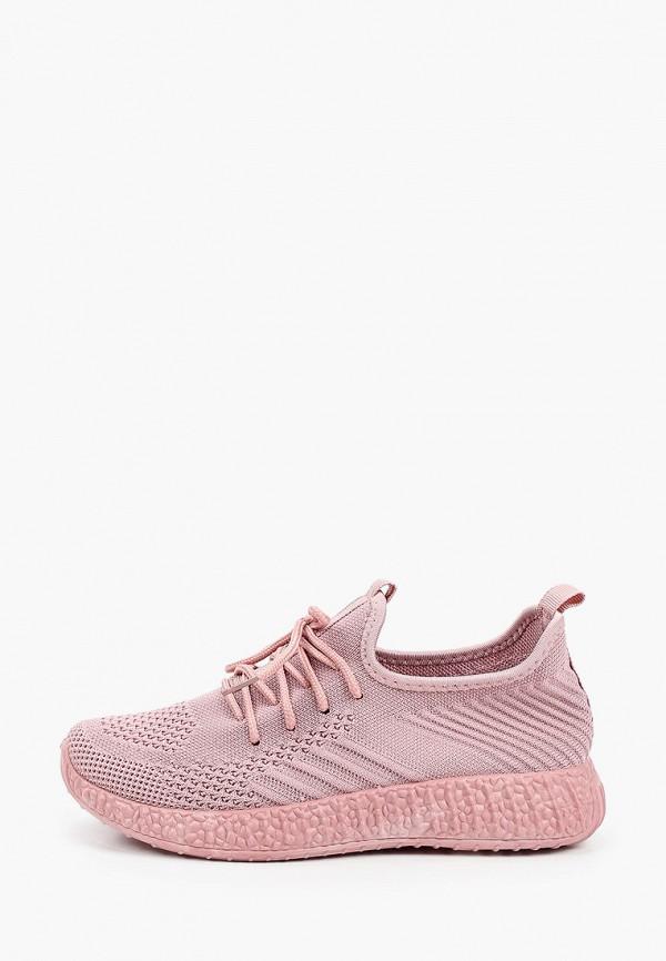 женские низкие кроссовки nobbaro, розовые