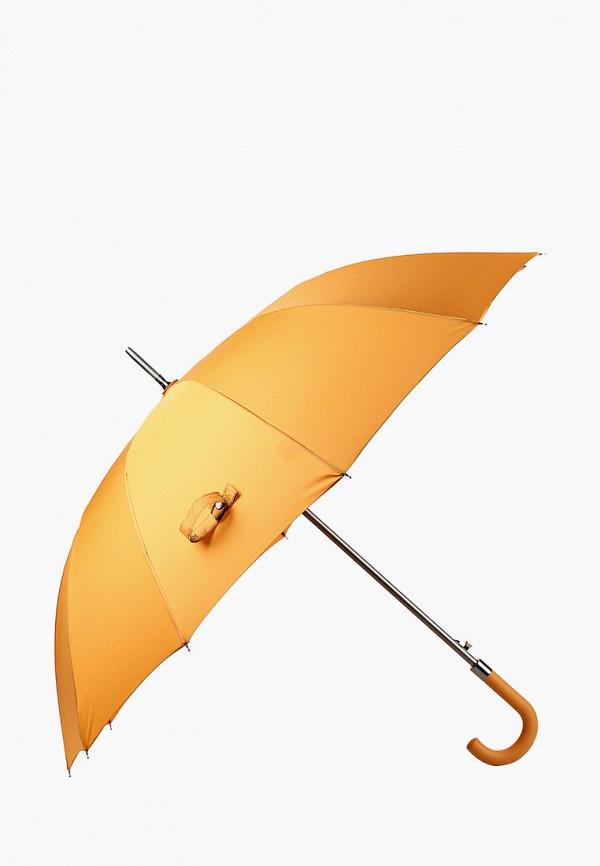 женский зонт-трости russian look, желтый