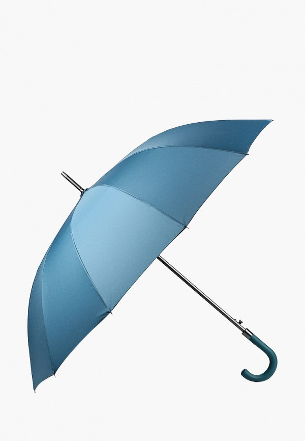 женский зонт-трости russian look, бирюзовый