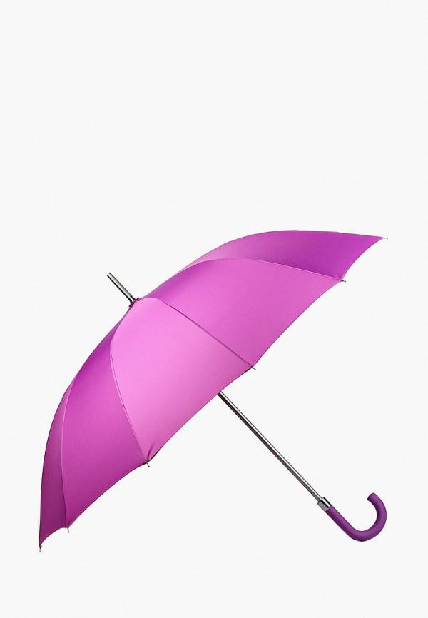 женский зонт-трости russian look, фиолетовый