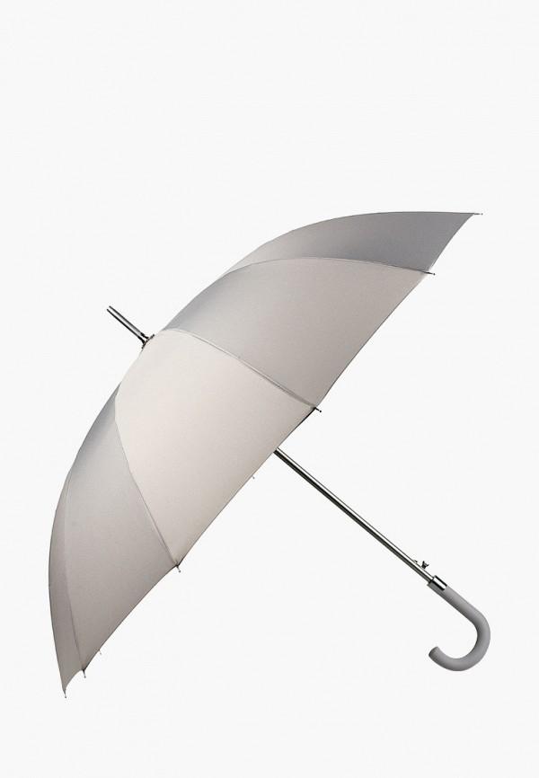 женский зонт-трости russian look, серый