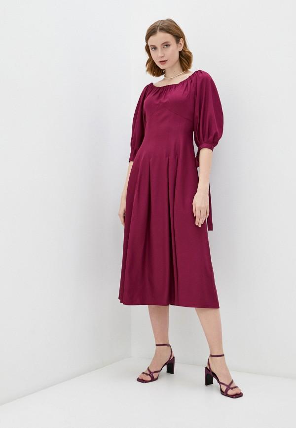 женское платье мадам т, фиолетовое