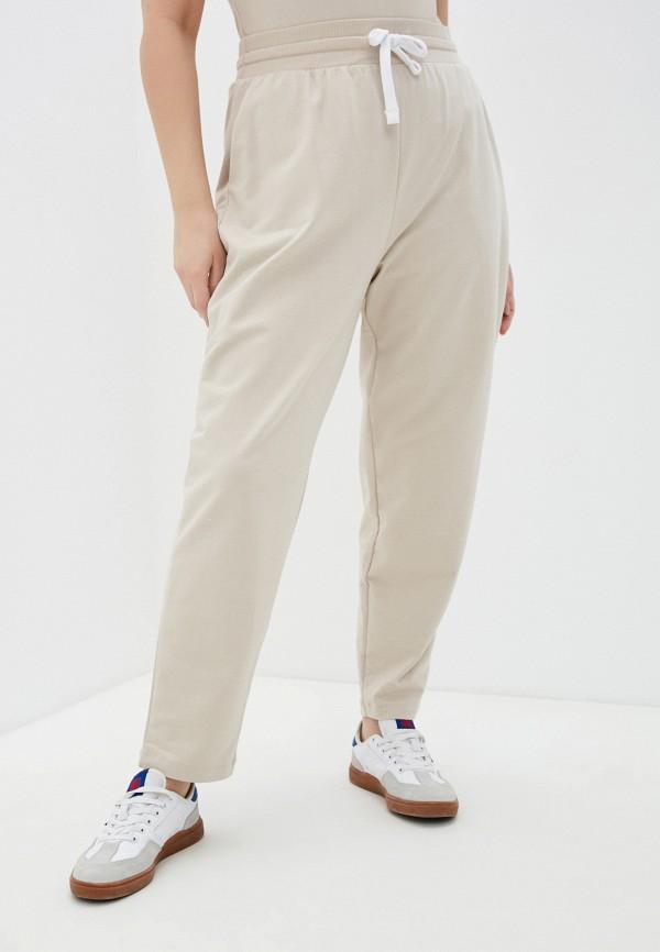 женские спортивные брюки mark formelle, бежевые