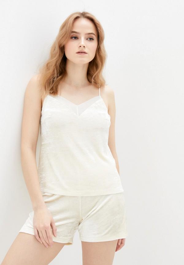 женская пижама mark formelle, бежевая