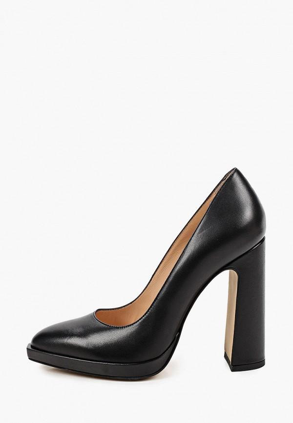 женские туфли с закрытым носом emanuele gelmetti, черные