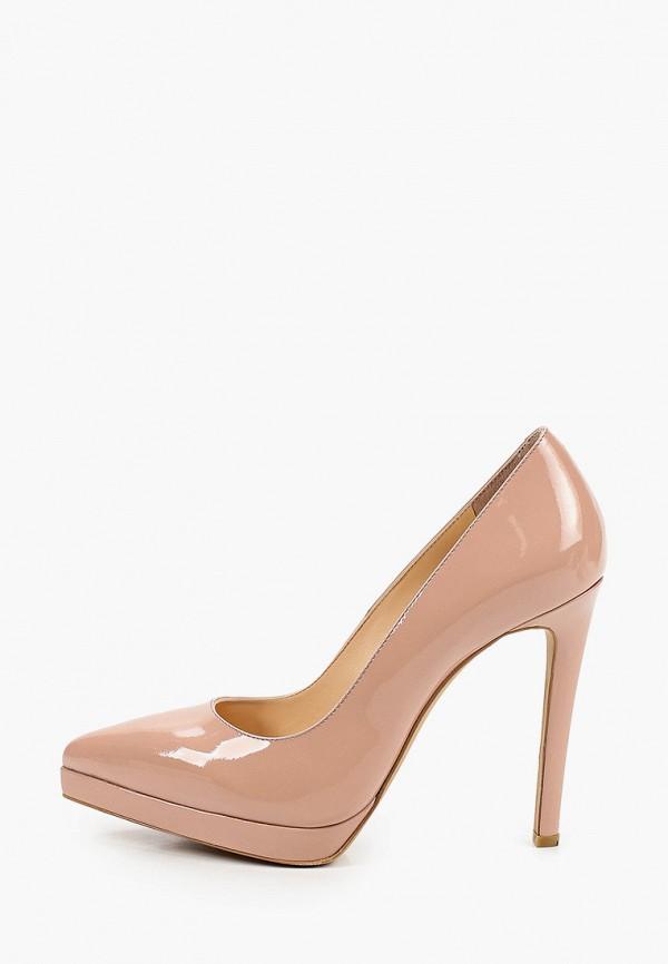 женские туфли-лодочки emanuele gelmetti, бежевые