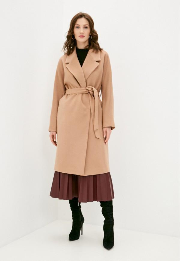 женское пальто avalon, бежевое