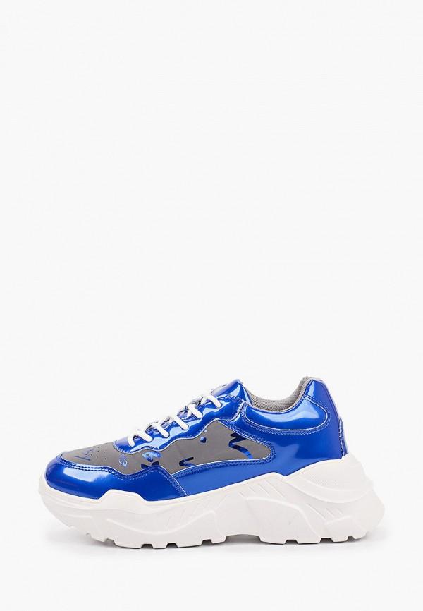 женские низкие кроссовки inario, синие