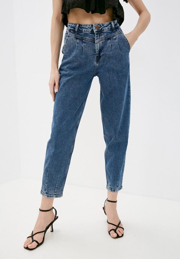 женские джинсы-мом dairos, синие