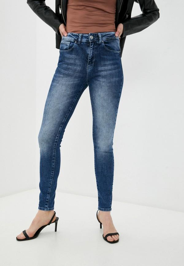 женские джинсы скинни whitney, синие