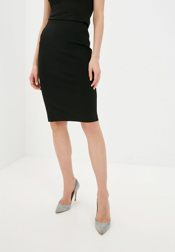 женская узкие юбка ruxara, черная