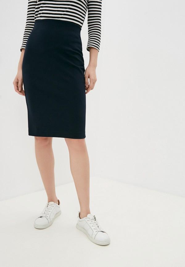 женская узкие юбка ruxara, синяя