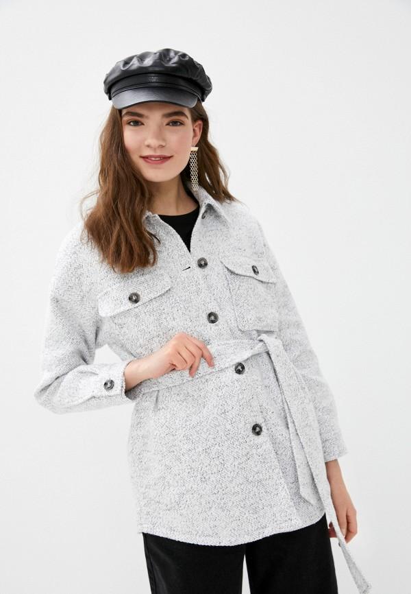 женское пальто o'stin, серое