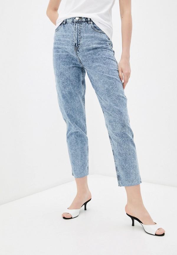 женские джинсы-мом incity, синие