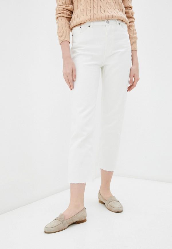 женские джинсы-мом incity, белые