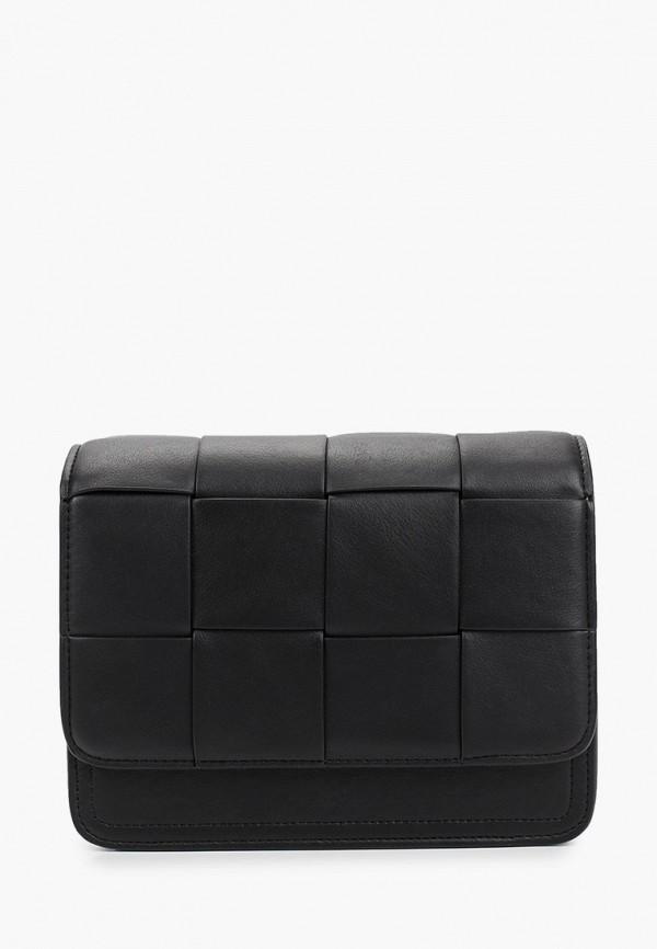 женская сумка через плечо incity, черная