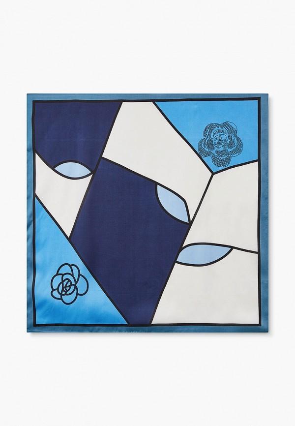 женский платок mon mua, синий