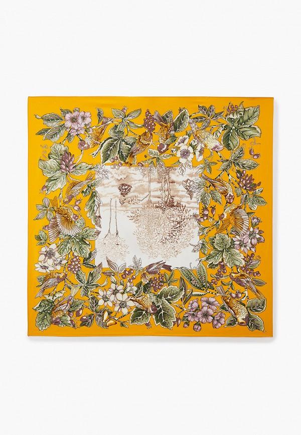 женский платок mon mua, желтый