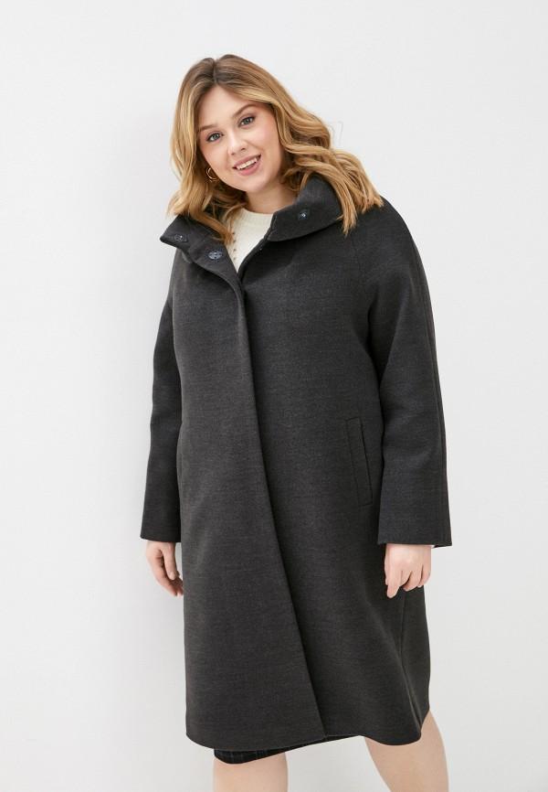 женское пальто meltem collection, серое