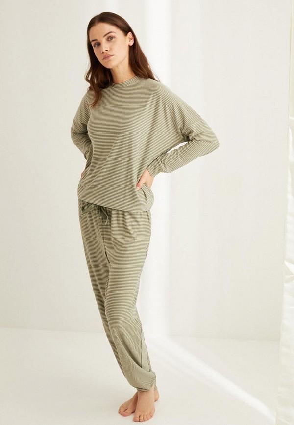 женская пижама women'secret, зеленая