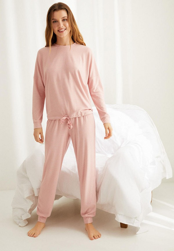женская пижама women'secret, розовая