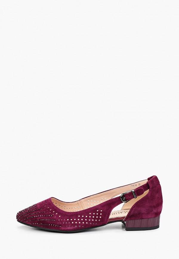 женские туфли с закрытым носом ascalini, фиолетовые