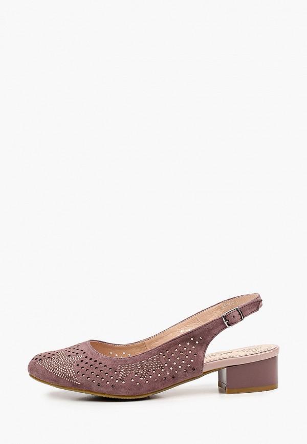 женские туфли ascalini, розовые