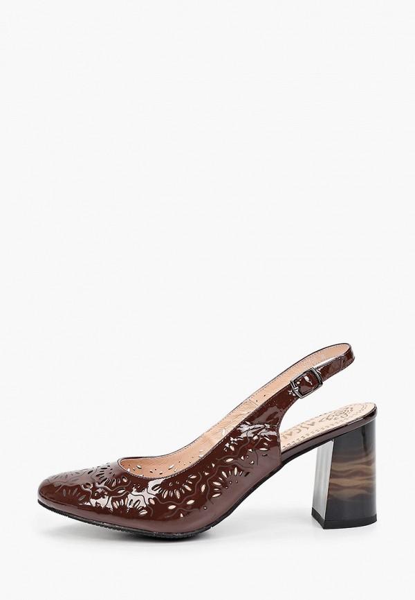 женские туфли ascalini, коричневые