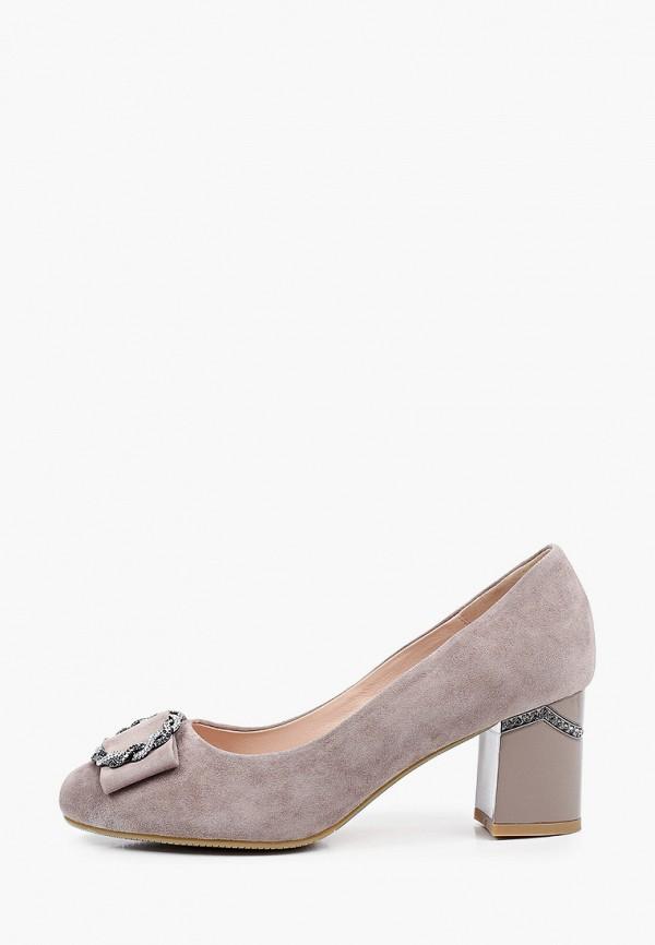 женские туфли с закрытым носом ascalini, бежевые