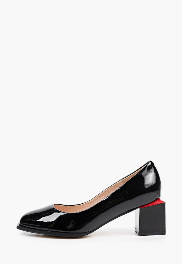 женские туфли с закрытым носом ascalini, черные