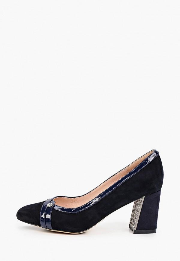 женские туфли с закрытым носом ascalini, синие