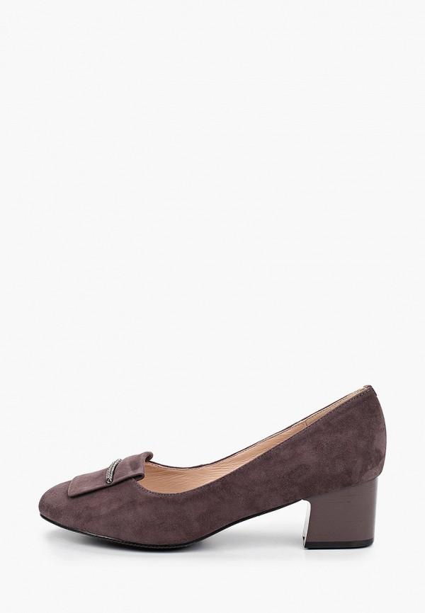 женские туфли с закрытым носом ascalini, коричневые