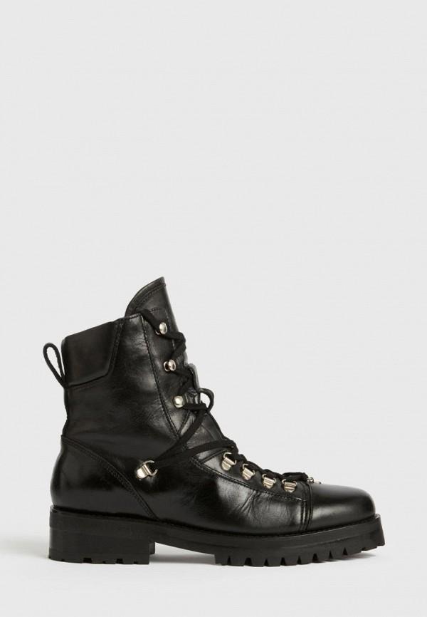 женские ботинки allsaints, черные