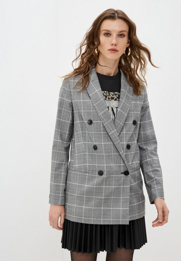 женский пиджак allsaints, серый