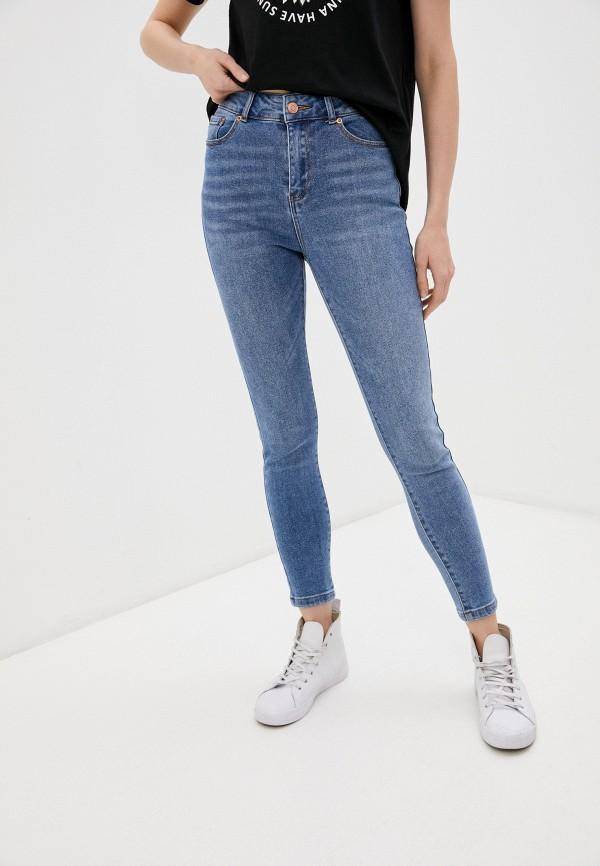 женские джинсы скинни o'stin, синие
